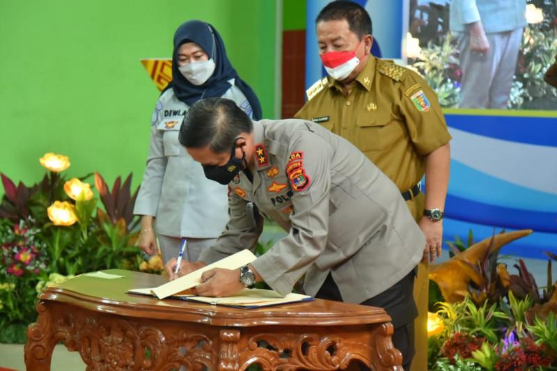 Kapolda Lampung mengapresiasi peluncuran e-Samdes