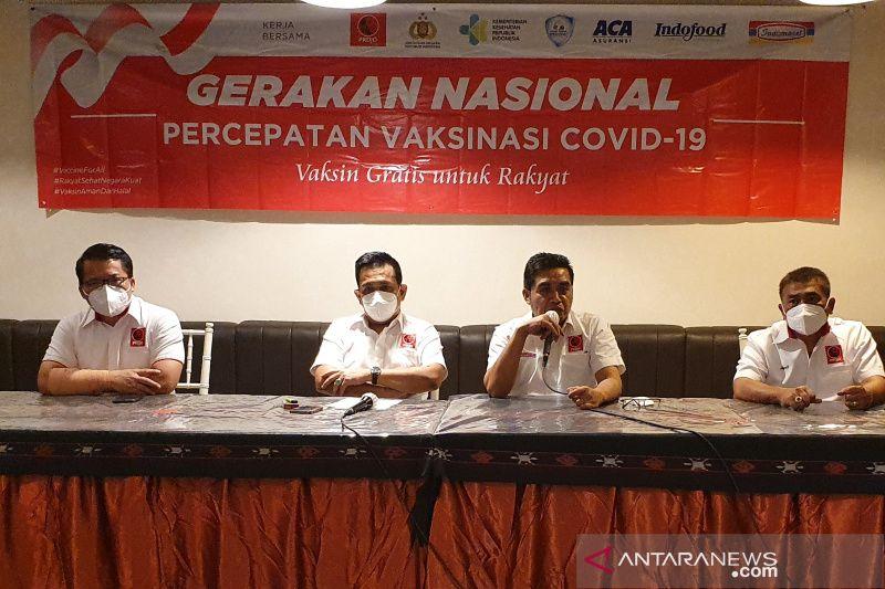 Projo gelar vaksinasi gratis 20 kabupaten/kota di Jateng