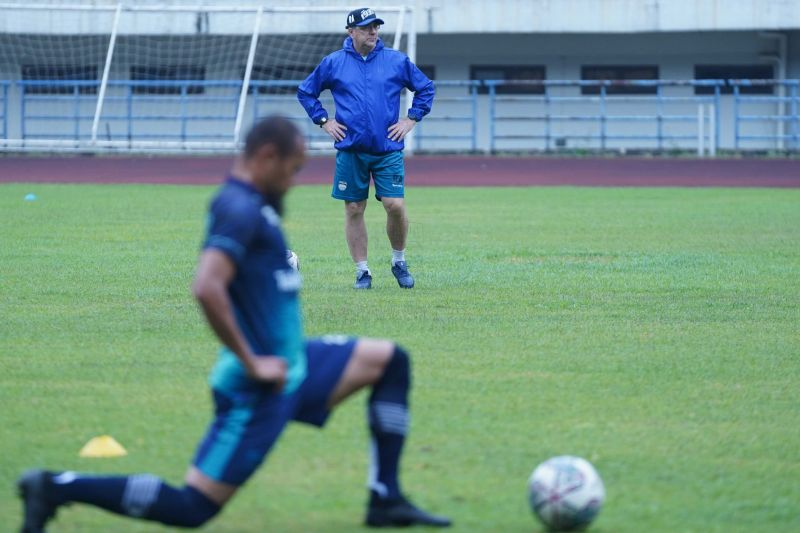 Persib mulai latihan, bersiap hadapi Bali United