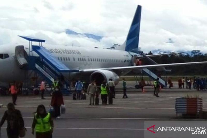 Garuda Indonesia pindah operasi di terminal selatan Bandara Timika