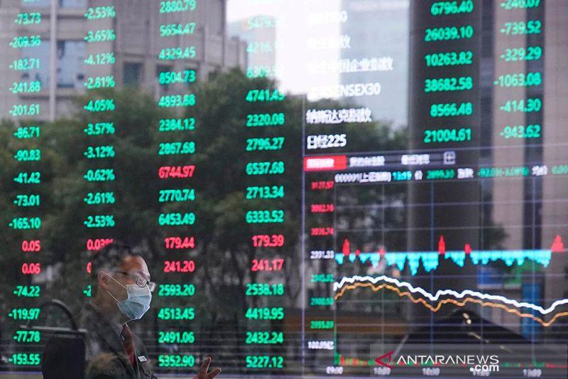 Saham China berakhir melemah, indeks Shanghai tergelincir 0,80 persen