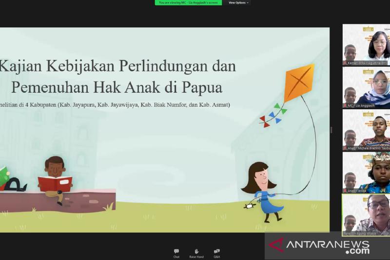 Anak-anak Papua kerap hadapi kekerasan fisik dan verbal