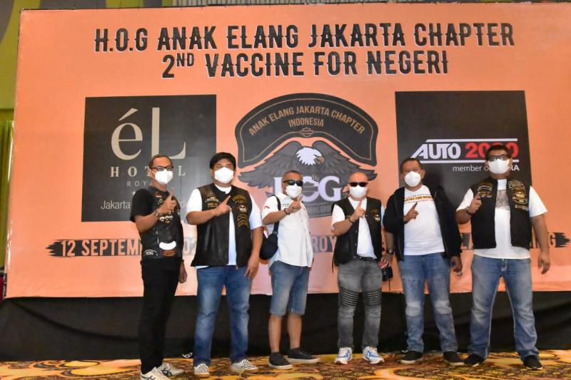 HOG Anak Elang Jakarta inisiatif gelar vaksinasi