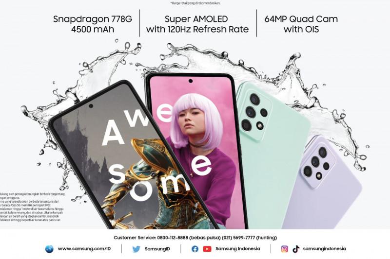 Samsung luncurkan Galaxy A52s 5G dengan harga Rp6 jutaan