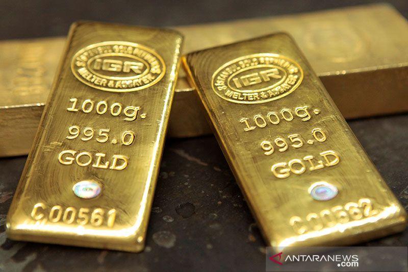 Emas melonjak 12,7 dolar, laju inflasi AS lebih lembat dari perkiraan
