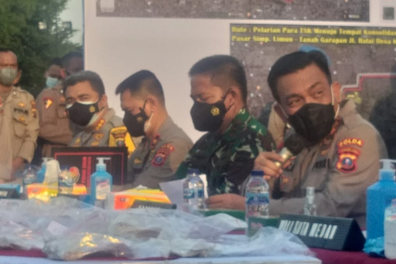 Kapolda Sumut sebut senjata api perampok toko emas dibeli dari Aceh