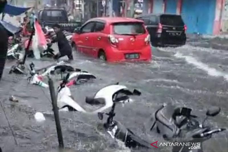 Kota Ternate dilanda banjir