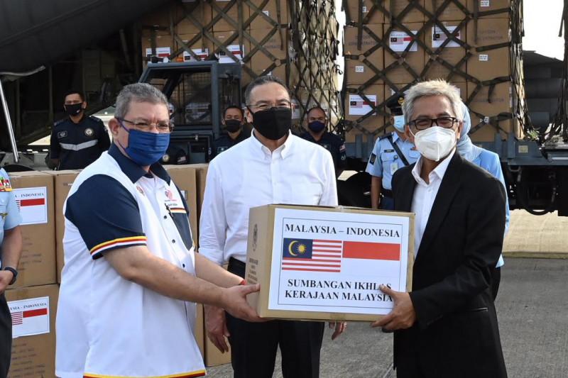 Malaysia sumbang peralatan COVID-19 ke Indonesia