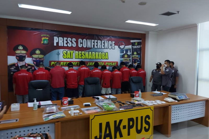 Polisi ringkus sembilan bandar sabu jaringan Malaysia