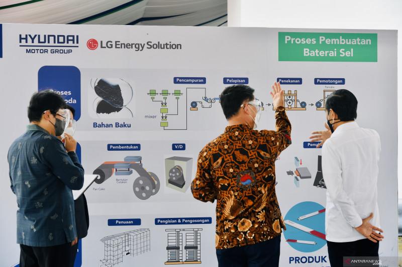 Bahlil: Pabrik baterai listrik serap 1.100 tenaga kerja langsung