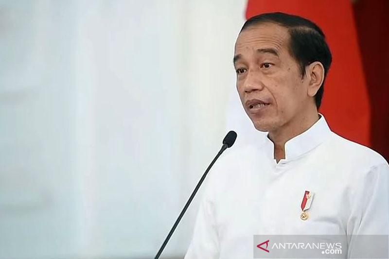 Presiden Jokowi bersyukur pembukaan ekonomi diikuti kepatuhan prokes