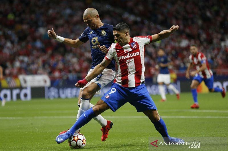 Atletico dan Porto berbagi poin dalam laga kering peluang