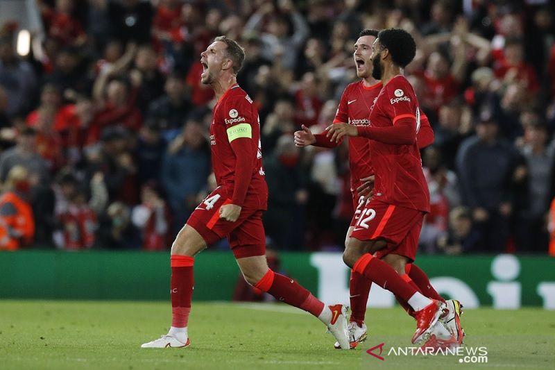 Liverpool menangi duel elit Eropa kontra AC Milan di Anfield
