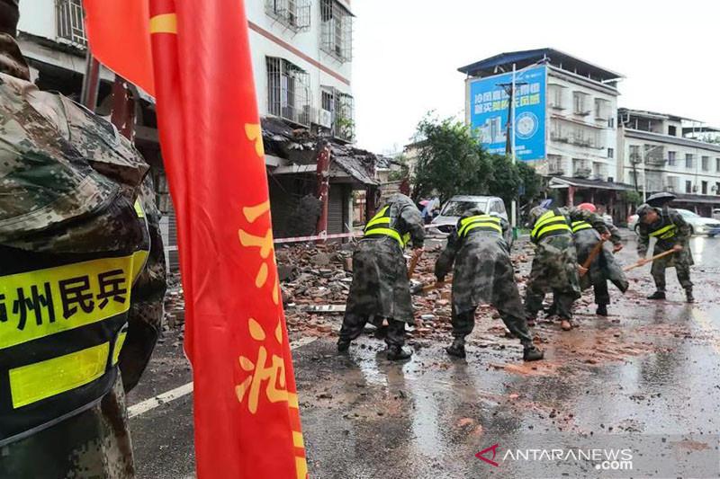 Tiga tewas akibat gempa di Sichuan China