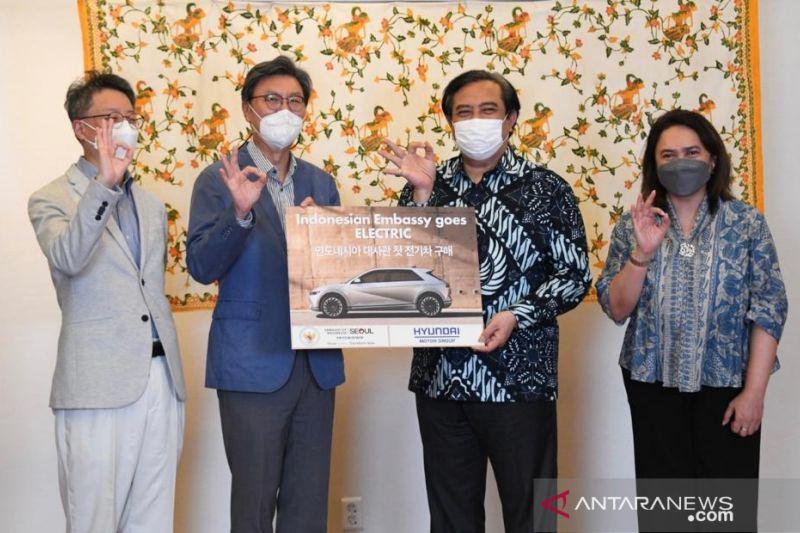 KBRI Seoul gunakan mobil listrik