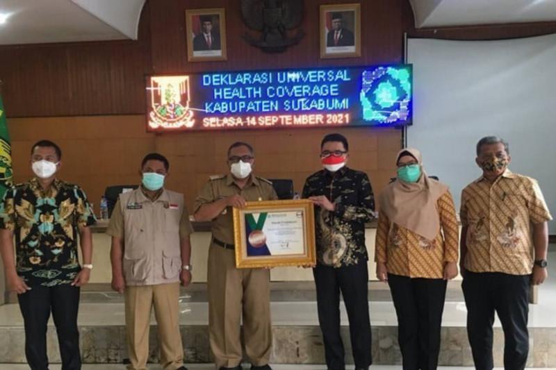 BPJS Kesehatan apresiasi Pemkab Sukabumi yang mampu capai UHC