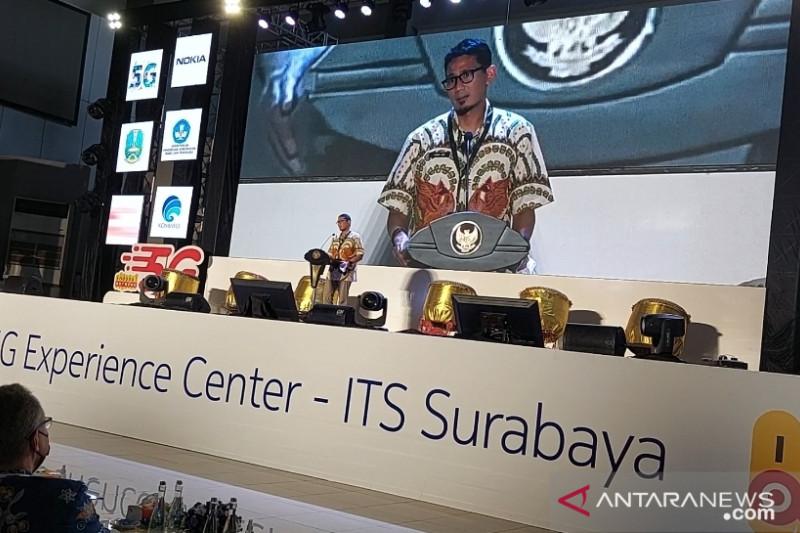 Menparekraf resmikan pusat teknologi 5G kampus pertama di Indonesia