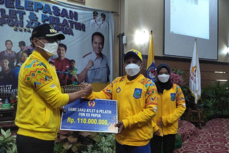 37 atlet Kota Mataram-NTB dilepas menuju PON XX Papua