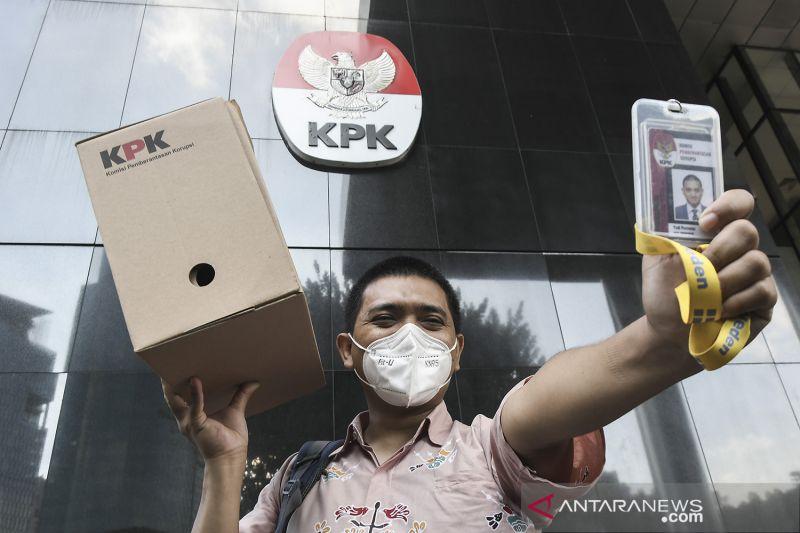 KPK berhentikan 57 pegawai tak lulus TWK