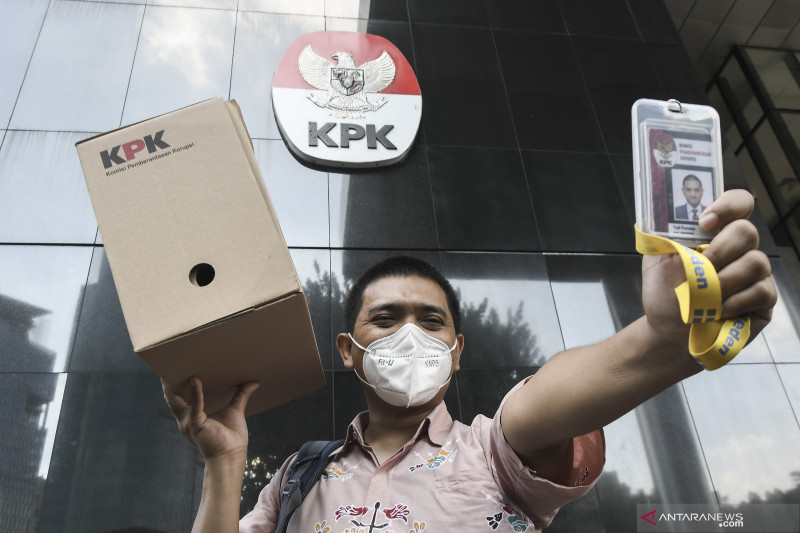Pegawai KPK tetap yakin hasil TWK bukan rahasia negara