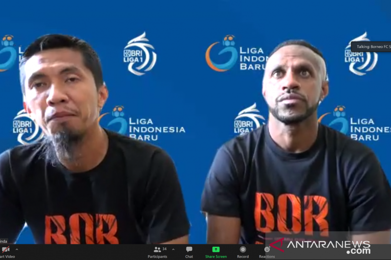 Borneo FC siap tunjukan kualitas ketika hadapi Persib Bandung