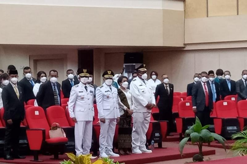 Gubernur NTT melantik Bupati Sabu Raijua dan Bupati Lembata