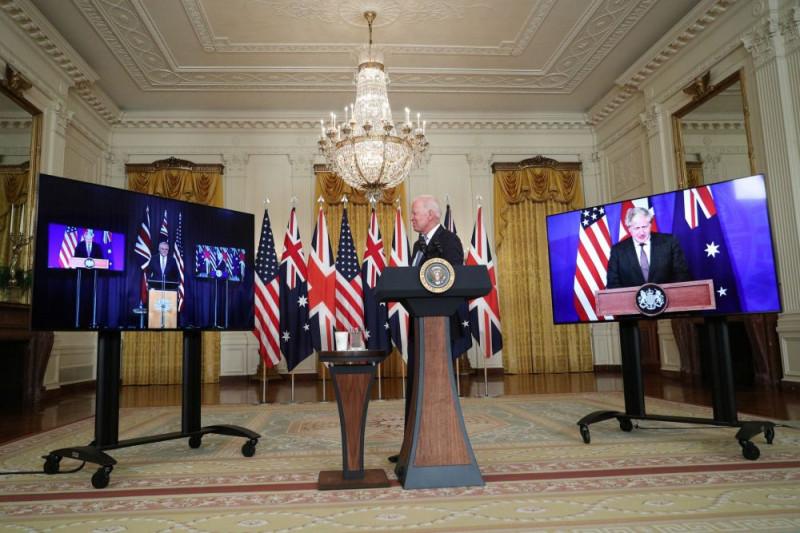 AS beri Australia teknologi kapal selam nuklir untuk imbangi China