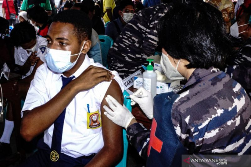 Kesembuhan harian di Papua tertinggi capai 5.588 orang