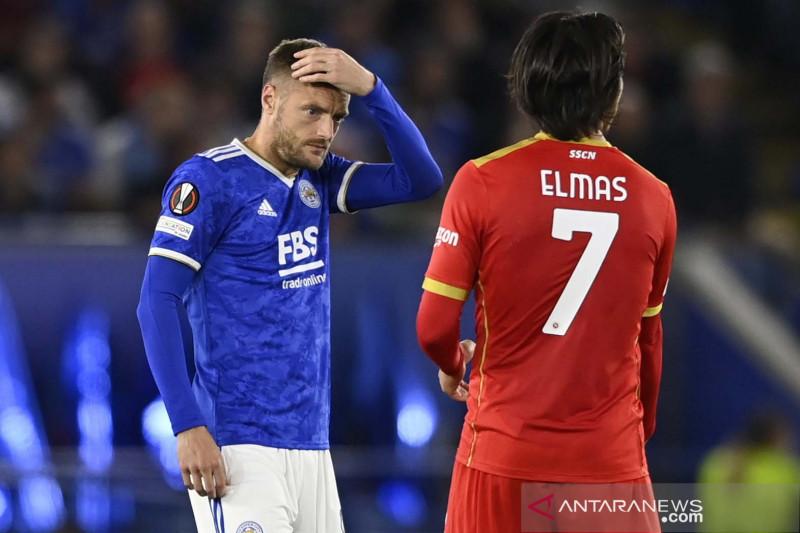 Kualifikasi Liga Eropa: Leicester City bermain imbang dengan Napoli 2-2