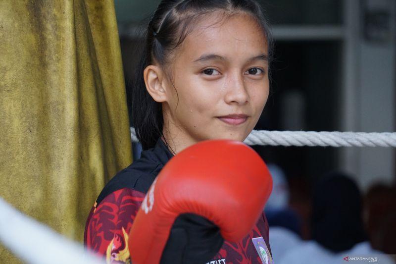 Silfana Mahmud incar medali emas cabang muaythai di PON Papua