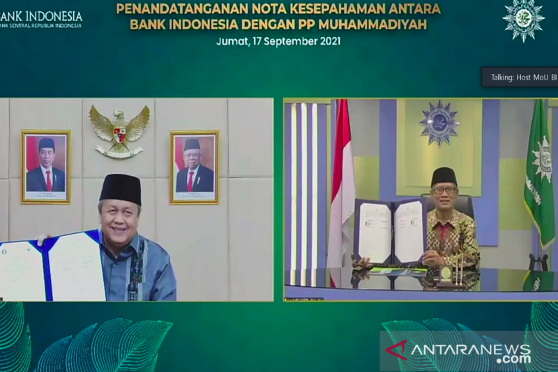 BI dan PP Muhammadiyah sepakati kerja sama perkuat ekonomi syariah