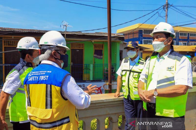 Kementerian PUPR dan Pemprov Jakarta lanjutkan program tanggul pantai