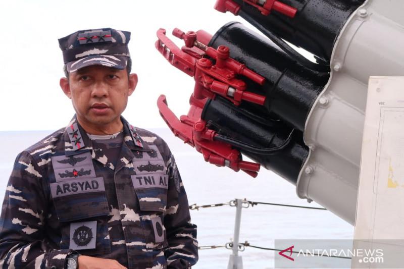 TNI AL tak temukan ribuan kapal di Laut Natuna Utara saat patroli