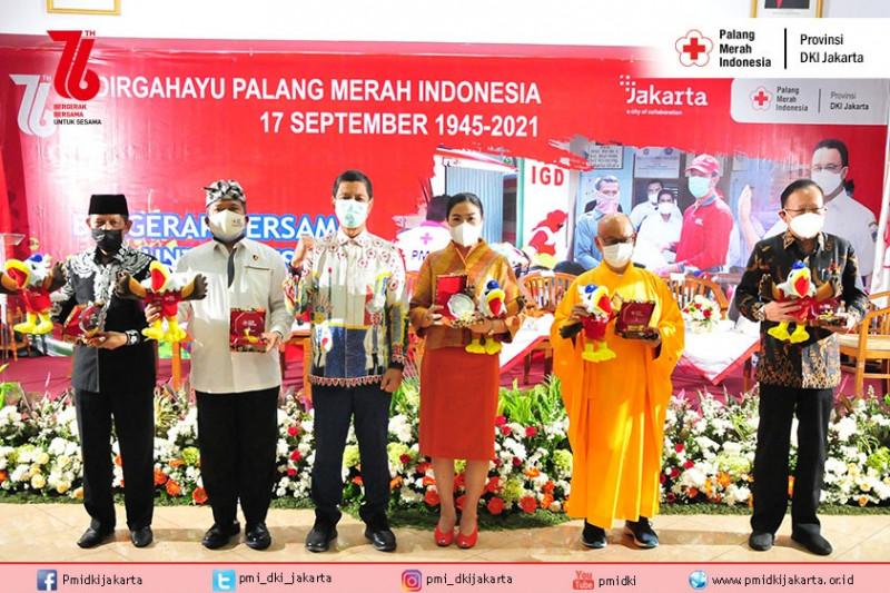 Tokoh lintas agama hadiri HUT ke-76 PMI DKI Jakarta