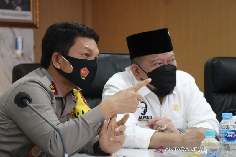 Ketua DPD apresiasi Polda Jatim asuh anak yatim piatu korban COVID-19