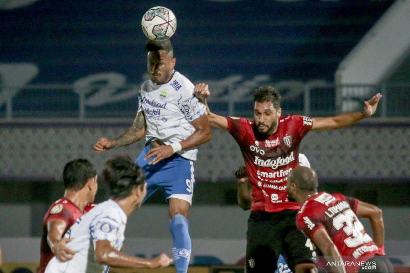 Bali United harus puas bermain imbang hadapi Persib Bandung