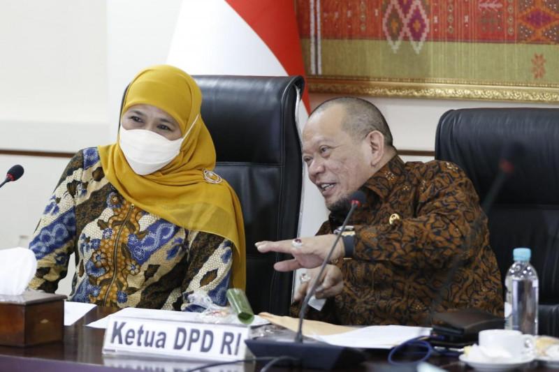 Ketua DPD RI apresiasi Jatim turun level PPKM