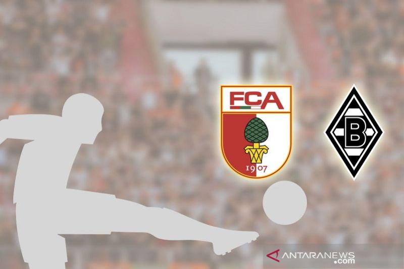 Augsburg petik kemenangan perdana saat empat tim berbagi poin