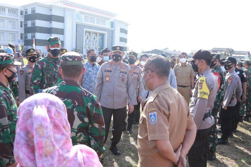 TNI-Polri dan Pemkab Lombok Tengah kerahkan 150 tim vaksinator