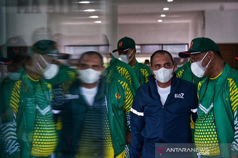 Gubernur Sumut ingatkan atlet fokus bertanding di PON Papua
