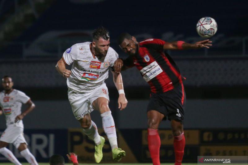 Liga 1: Persija melawan Persipura berakhir imbang 0-0