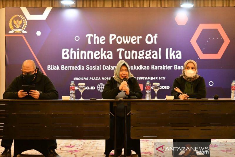 MPR ajak warganet jaga semangat Bhinneka Tunggal Ika