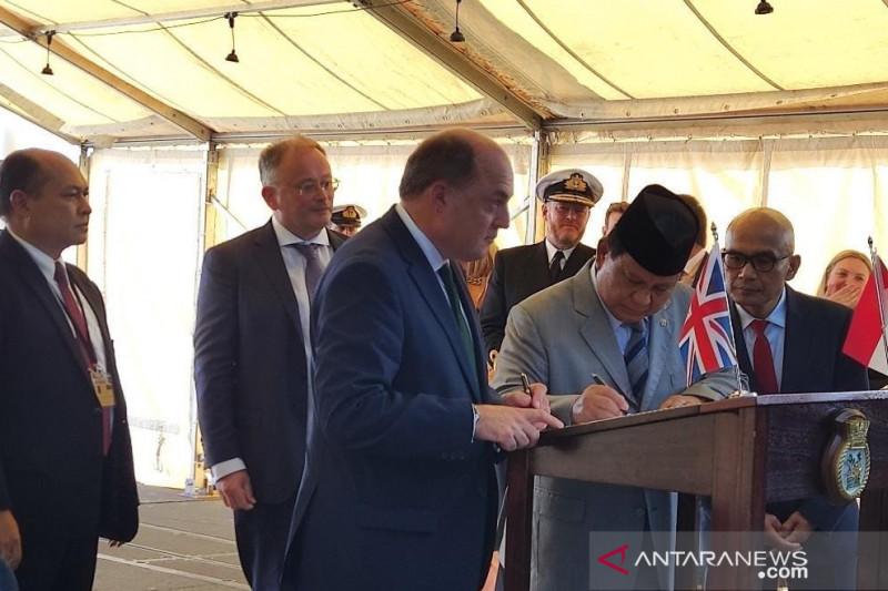 Kerja sama pembuatan kapal fregat TNI AL ditandatangani di London