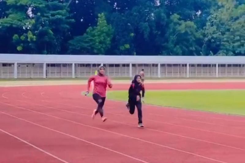 Sebanyak 14 atlet atletik Sumbar jalani TC intensif di dua daerah