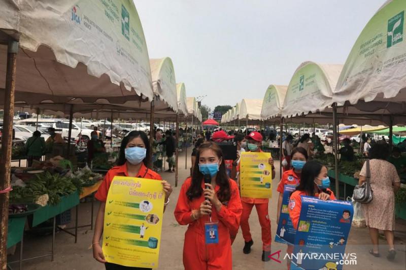 Varian Delta Plus menyebar di ibu kota Laos