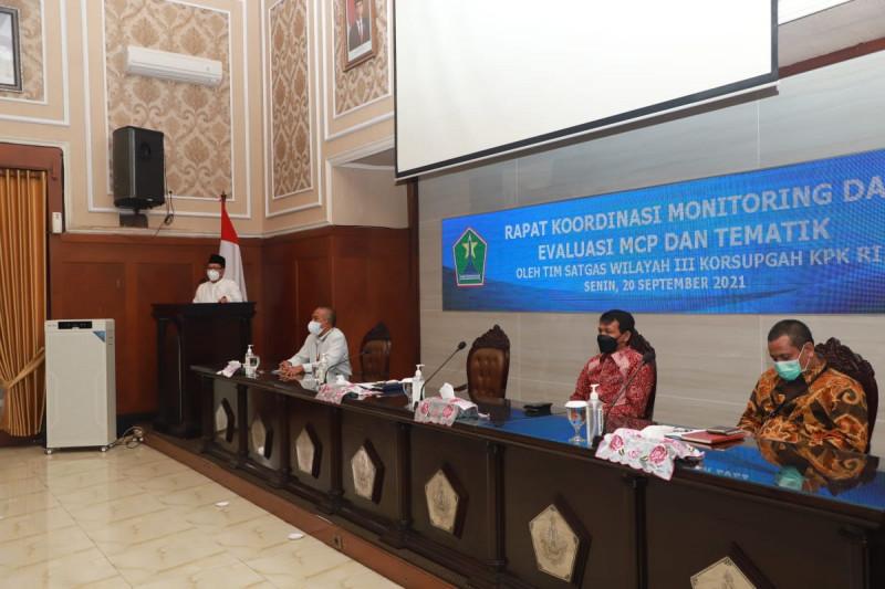 KPK monitoring implementasi tata kelola pemerintahan di Kota Malang