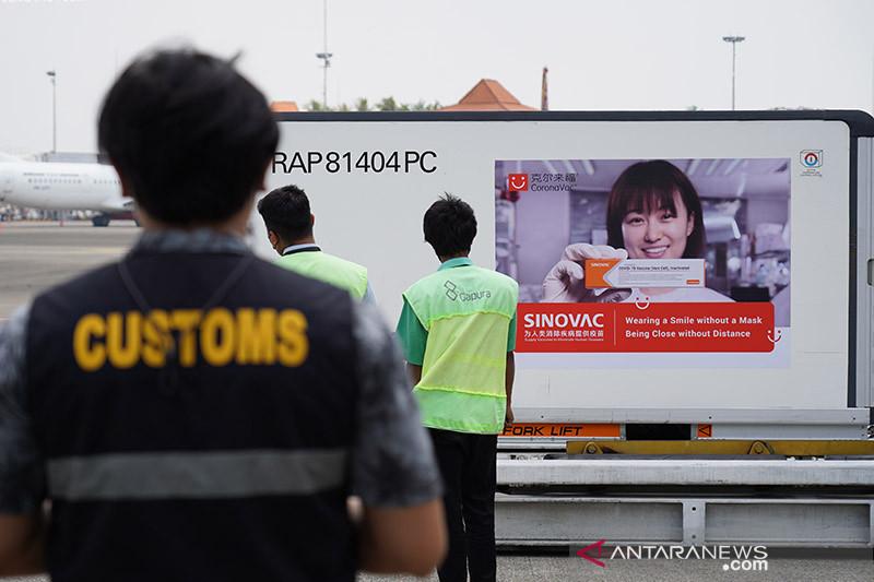 Indonesia terima kiriman 5 juta dosis vaksin Sinovac tahap ke-70