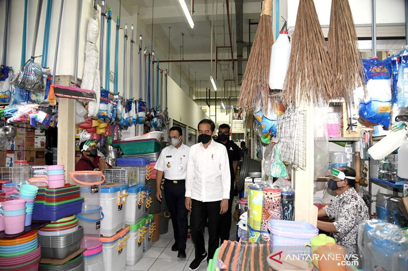 Presiden: Fasum Rusun Pasar Rumput permudah aktivitas ekonomi