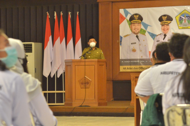 Bupati Gresik lepas 44 peserta PON XX Papua