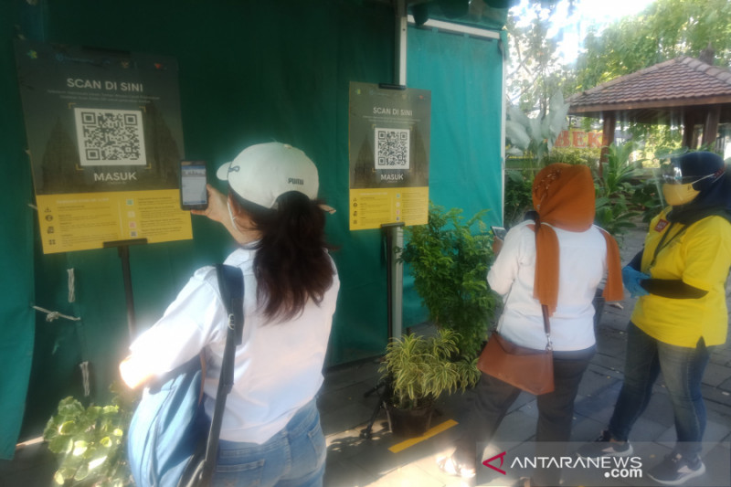 Dua hari dibuka, Candi Prambanan hanya dikunjungi 643 wisatawan